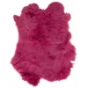 Rabbit Fur Skin - Medium Grade  Dyed Pink (1pc)